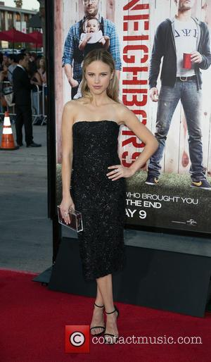 Halston Sage - Celebrities attend Universal Pictures World premiere of NEIGHBORS at Regency Village Theater in Westwood. - Los Angeles,...