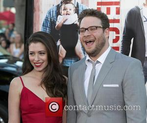 Lauren Miller and Seth Rogen - Celebrities attend Universal Pictures World premiere of NEIGHBORS at Regency Village Theater in Westwood....