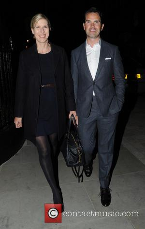 Jimmy Carr and Karoline Copping - Celebrities at the Chiltern Firehouse restaurant in Marylebone - London, United Kingdom - Monday...