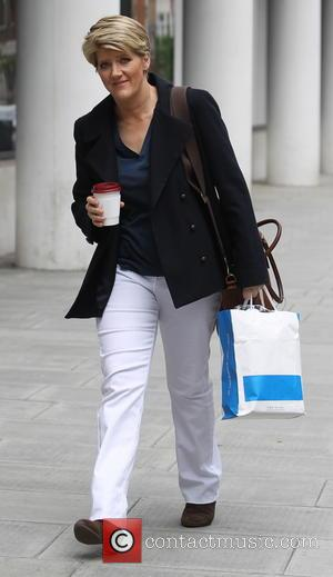 Clare Balding - Clare Balding seen arriving at BBC House in London - London, United Kingdom - Tuesday 29th April...