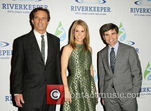 Robert F. Kennedy, Cheryl Hines and George Stephanopoulos
