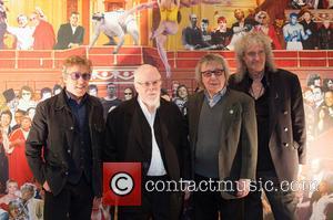 Roger Daltrey, Sir Peter Blake and Brian May
