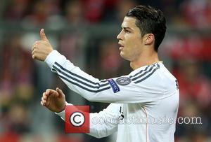 Cristiano Ronaldo - Bayern Munich vs Real Madrid - Champions League - Semi Final - Muenchen, Bayern, Germany - Tuesday...