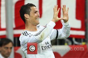 Cristiano Ronaldo and Goal  0:3 - Bayern Munich vs Real Madrid - Champions League - Semi Final - Muenchen,...
