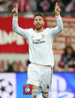 Munich, Sergio Ramos Goal 0:1 celebration and Real Madrid