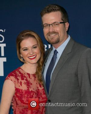 Sarah Drew and Peter Lanfer - Premiere of 'Mom's Night Out' held at the TCL Chinese Theater - Arrivals -...