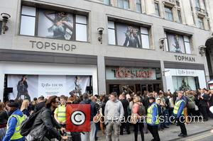 Kate Moss and Topshop