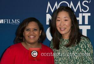 Chandra Wilson and Sandra Oh