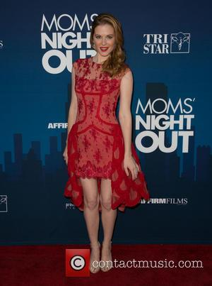Sarah Drew - Moms Night Out Premiere at TCL Chinese Theater - Red Carpet - Los Angeles, California, United States...