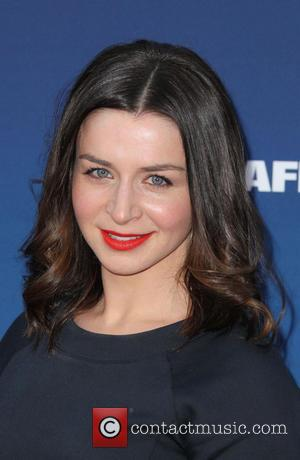 Caterina Scorsone - Premiere of 'Mom's Night Out' held at the TCL Chinese Theatre IMAX - Arrivals - Los Angeles,...