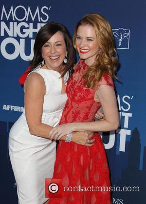 Patricia Heaton and Sarah Drew - Premiere of 'Mom's Night Out' held at the TCL Chinese Theatre IMAX - Arrivals...