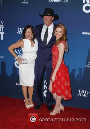 Patricia Heaton, Trace Adkins and Sarah Drew - Premiere of 'Mom's Night Out' held at the TCL Chinese Theatre IMAX...