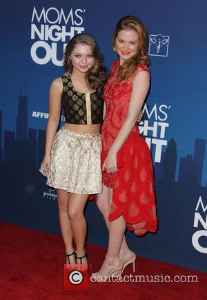Sammi Hanratty and Sarah Drew - Premiere of 'Mom's Night Out' held at the TCL Chinese Theatre IMAX - Arrivals...