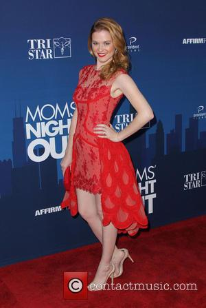 Sarah Drew - Premiere of 'Mom's Night Out' held at the TCL Chinese Theatre IMAX - Arrivals - Los Angeles,...