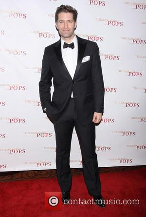 Matthew Morrison - The New York Pops 31st Birthday Gala Dinner held at the Mandarin Oriental Hotel - Arrivals. -...