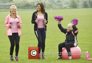 Jessica Wright, Carol Wright and Nanny Pat
