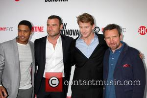 Pooch Hall, Liev Schreiber, Dash Mihok and Eddie Marsan