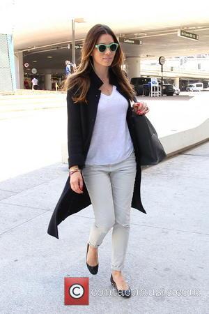 Jessica Biel - Jessica Biel seen arriving at Los Angeles international airport. - Los Angeles, California, United States - Wednesday...