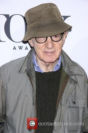 Woody Allen - Meet the 2014 Tony Nominees press junket held at the Diamond Horseshoe at the Paramount Hotel -...
