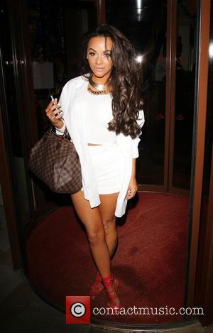 Chelsee Healey - Chelsee Healey arrives back at her hotel after attending the Secret Diva launch party - London, United...