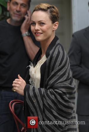 Vanessa Paradis - Vanessa Paradis arriving at Vivement Dimanche - Paris, France - Wednesday 30th April 2014