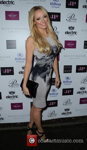 Liz McClarnon - Celebrities arrive for the launch of Phillip Armstrong new store - Liverpool, United Kingdom - Thursday 1st...