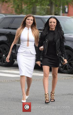Sam Cooke and Kaya Hall - Celebrities arrive for the launch of Phillip Armstrong new store - Liverpool, United Kingdom...