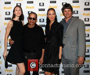 Anna Van Ravenstein, Stephen Burrows, Pat Cleveland and Paul Van Ravenstein