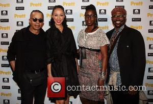 Stephen Burrows, Pat Cleveland, Adrienne Jones and Byron Lars