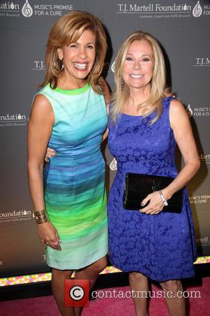 Hoda Kotb and Kathie Lee Gifford - T.J.Martell Foundation's Women of Influence Awards at The World Renowed Essex House -...