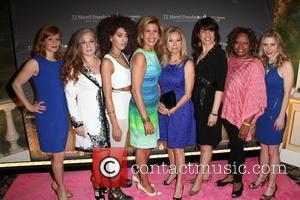 L To R, Kerry Butler, Randi Rahm, Jetta, Hoda Kotb, Kathie Lee Gifford, Sharon Dastur, Robin Quivers and Megan Sikora