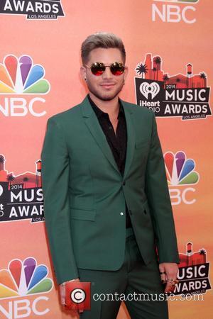 Adam Lambert - 2014 iHeartRadio Music Awards held at The Shrine Auditorium -Arrivals - Los Angeles, California, United States -...