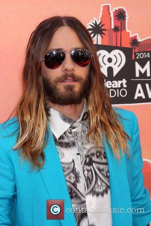 Jared Leto - iHeart Radio Music Awards Arrivals - Los Angeles, California, United States - Thursday 1st May 2014