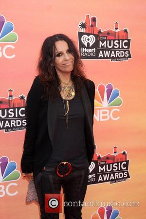 Linda Perry - iHeart Radio Music Awards Arrivals - Los Angeles, California, United States - Thursday 1st May 2014