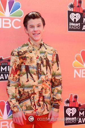 Nolan Gould - iHeart Radio Music Awards Arrivals - Los Angeles, California, United States - Thursday 1st May 2014
