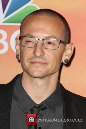 Chester Bennington - 2014 iHeartRadio Music Awards - Press Room at The Shrine Auditorium - Los Angeles, California, United States...
