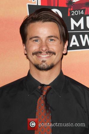 Jason Ritter - 2014 iHeartRadio Music Awards - Press Room at The Shrine Auditorium - Los Angeles, California, United States...