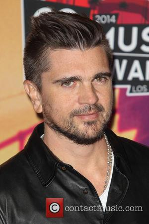 Juanes - 2014 iHeartRadio Music Awards - Press Room at The Shrine Auditorium - Los Angeles, California, United States -...