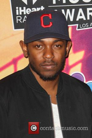 Kendrick Lamar - 2014 iHeartRadio Music Awards - Press Room at The Shrine Auditorium - Los Angeles, California, United States...