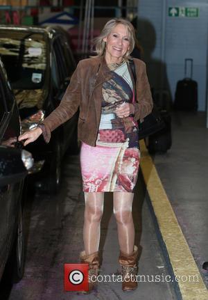 Ingrid Tarrant - Ingrid Tarrant outside the ITV studios - London, United Kingdom - Thursday 1st May 2014