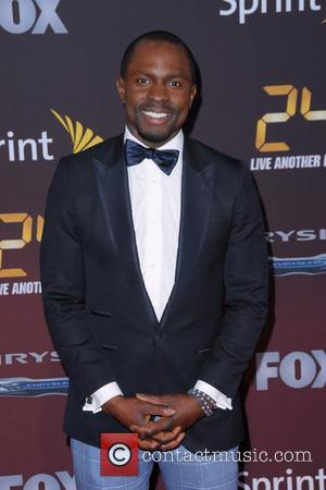 Gbenga Akinnagbe - '24: Live Another Day' world premiere - Arrivals - Manhattan, New York, United States - Friday 2nd...