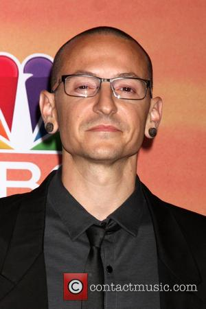 Chester Bennington - iHeart Radio Music Awards Press Room - Los Angeles, California, United States - Friday 2nd May 2014