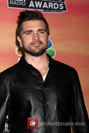 .Juanes - iHeart Radio Music Awards Press Room - Los Angeles, California, United States - Friday 2nd May 2014