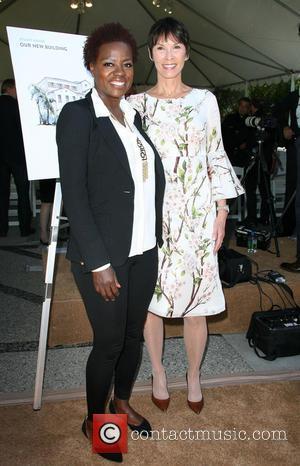 Viola Davis and Cheryl Saban