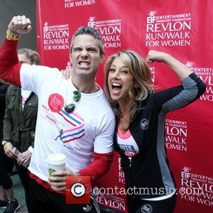 Andy Cohen and Denise Austin