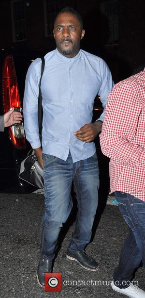 Idris Elba - Celebrities arrive at Bucks nightclub - Dublin, Ireland - Saturday 3rd May 2014