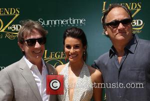 Martin Short, Lea Michele and Jim Belushi