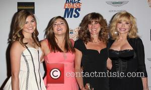 Loni Anderson and Family - 21st Annual Race To Erase MS Gala - Century City, California, United States - Saturday...