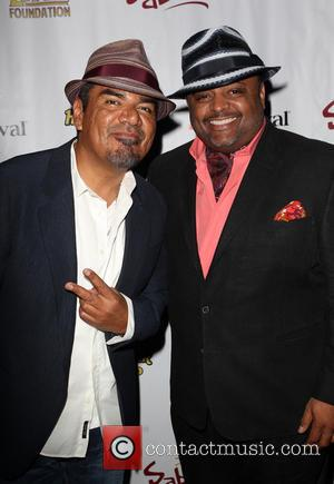 George Lopez and Roland Martin