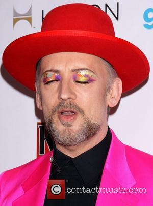 Boy George - 25th Annual GLAAD Media Awards held at the Waldorf Astoria Hotel - Arrivals - New York, New...